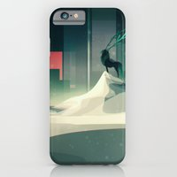 iPhone & iPod Case featuring Winter in a dark world by Lunacy