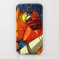 Galaxy S5 Cases featuring Samus (Metroid) by Peerro