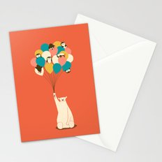 Penguin Bouquet Stationery Cards