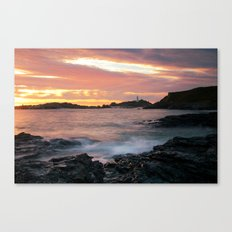 Godrevy Sunset - Cornwall Canvas Print