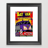 Batvan Framed Art Print