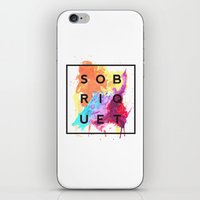 Sobriquet Watercolour. iPhone & iPod Skin