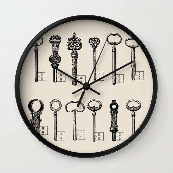 Usb Keys Wall Clock