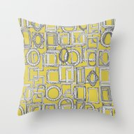 Picture Frames Aplenty Y… Throw Pillow