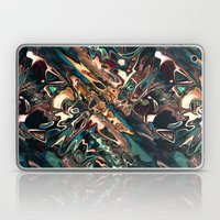 Melting Copper Abstract   Laptop & iPad Skin