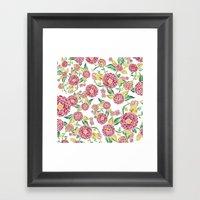 Camellia Japonica Floral… Framed Art Print
