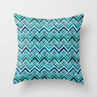 Arrowhead Chevrons Throw Pillow