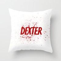 Dexter#01 Throw Pillow