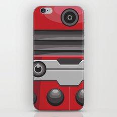 Dalek Red - Doctor Who iPhone & iPod Skin