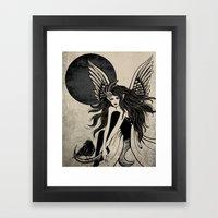 Dark Angel Framed Art Print