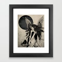 Dark Angel Framed Art Print