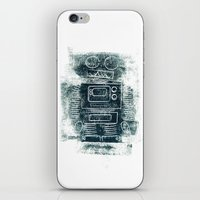 Robot Robot iPhone & iPod Skin