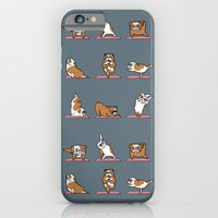 English Bulldog Yoga iPhone 6 Slim Case