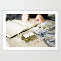 Citra Hops Art Print