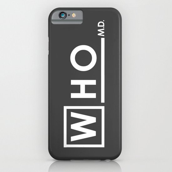 WHO MD iPhone & iPod Case