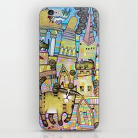 THE CITY OF 100 CATS iPhone & iPod Skin