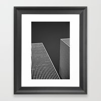 Buildings Framed Art Print