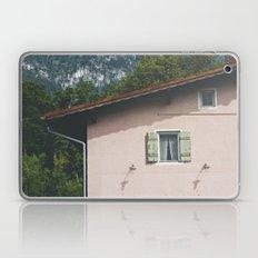 Pink Alpine House Laptop & iPad Skin