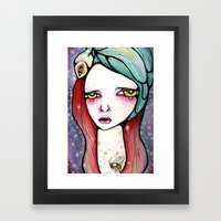 We Are All Just Star Dus… Framed Art Print