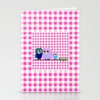 Pretty Owls  Stationery Cards