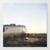Mojave Airstream Canvas Print