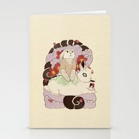 Master and Servant Stationery Cards