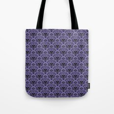 Haunted Mansion Wallpaper Tote Bag
