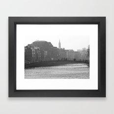 Hazy Ha'Penny Framed Art Print