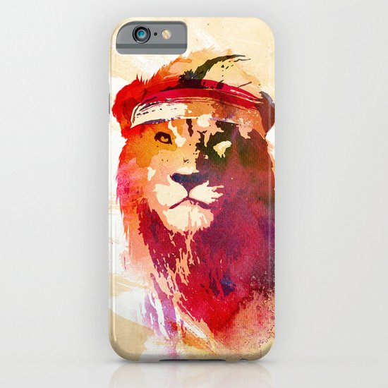 Gym Lion iPhone & iPod Case