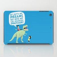 my car-nivorous dinosaur iPad Case