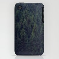iPhone 3Gs & iPhone 3G Cases featuring Deep In The Woods by Tordis Kayma