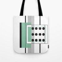 Dominoeffekt Tote Bag