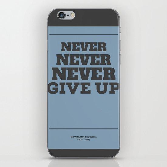 Never iPhone & iPod Skin
