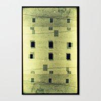 Landscapes c4 (35mm Double Exposure) Canvas Print