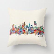 Port Elizabeth south africa Throw Pillow