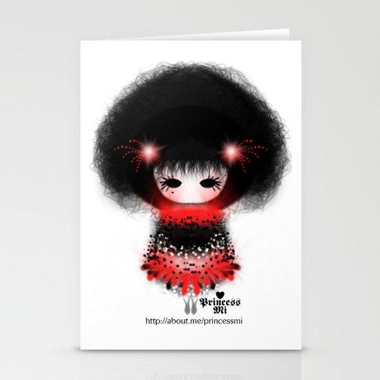girl Stationery Card
