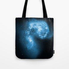 Blue Galaxy Tote Bag