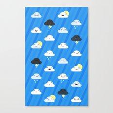 Forecast Feelings Canvas Print