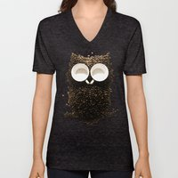 Hoot! Night Owl! Unisex V-Neck