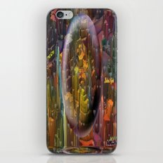 Welcome City By Nico Bie… iPhone & iPod Skin