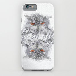 iPhone & iPod Case - F*ck off - studio VII