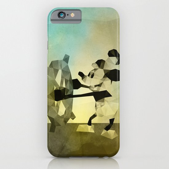 Mickey Mouse as Steamboat Willie iPhone & iPod Case