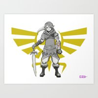 Legend Of Zelda - A New … Art Print