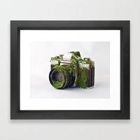 After We've Gone. Camera Uno Framed Art Print
