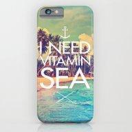 I Need Vitamin Sea iPhone 6 Slim Case