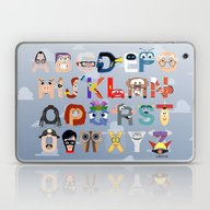 P Is For Pixar (Pixar Al… Laptop & iPad Skin