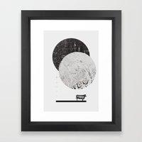 Calculating A Jump Over … Framed Art Print