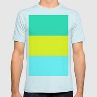 Tropicana Mens Fitted Tee Light Blue SMALL