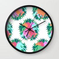 Bouquet of Unicorns Wall Clock