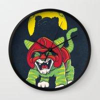 Battle Kitty's Mighty RA… Wall Clock